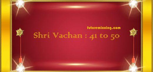 SSDN : Shri Vachan 41 to 50